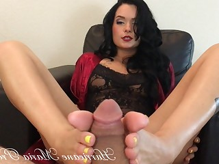 Cum Cumshot Feet Foot Fetish Footjob MILF POV