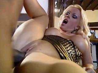 Babe Big Tits Black Blowjob Big Cock Cum Cumshot Curvy