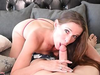 Babe Bikini Blowjob Brunette Big Cock Cum Cumshot Facials