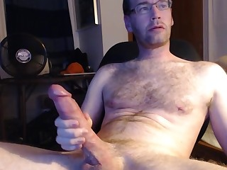Ass Big Cock Cumshot Daddy Glasses Hairy Hot Huge Cock