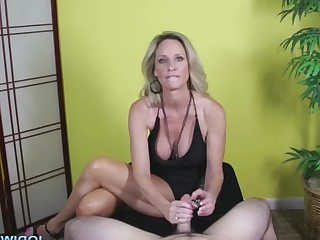 Big Tits Blonde Big Cock Cum Cumshot Dolly Handjob Hot