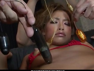 Bikini Blonde Big Cock Cum Cumshot Dildo Fingering Fuck