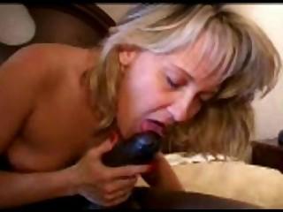 Creampie Interracial Mammy MILF Wild Wife