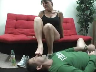 Cum Cumshot Feet Foot Fetish Footjob Handjob Mature