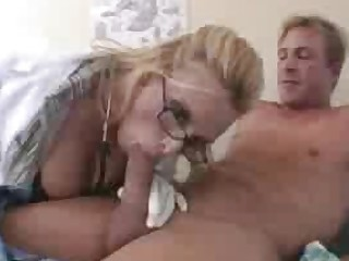 Anal Angel Ass Big Tits Blonde Glasses Hardcore Mature