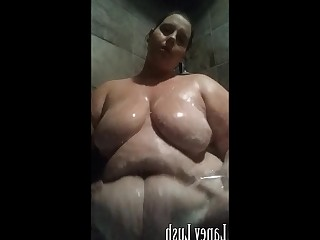 Amateur Bathroom BBW Fatty Fetish Mammy Mature MILF