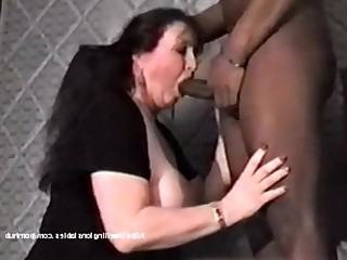 Amateur Big Tits Blowjob Brunette Big Cock Interracial MILF Natural