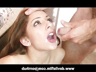 Big Tits Blonde Blowjob Brunette Cumshot Facials Hot Interracial