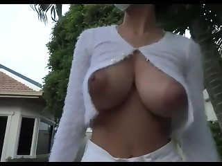 Big Tits Boobs Brunette MILF Thailand