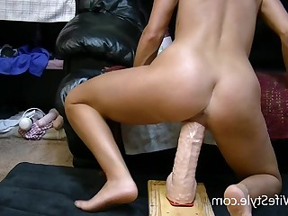 Amateur Ass Babe BDSM Brunette Dildo Feet Foot Fetish