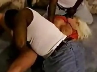Black Blonde Bus Busty Big Cock Ebony Fuck Group Sex