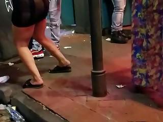 Amateur Dress Ebony BBW MILF Party Public Slender