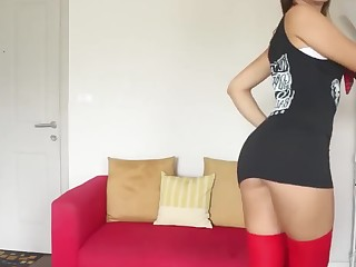 Anal Ass Babe Brunette Dancing Doggy Style Dress Hidden Cam