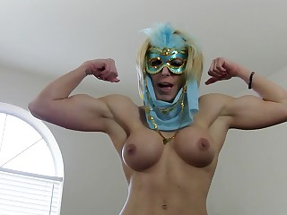 Big Tits Blonde Boobs Domination Fetish Jerking MILF
