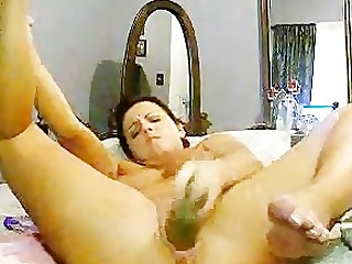 Amateur Boss Cougar Dildo First Time Homemade Housewife Mammy