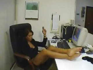 Amateur Babe Brunette Feet Fetish Foot Fetish Footjob Hidden Cam