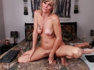 Ass Blonde Cougar Little Masturbation MILF Playing Toys