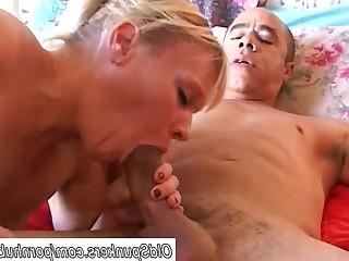 Amateur Blonde Cumshot Facials Fuck Gorgeous Granny Hardcore