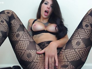 Babe Close Up Cum Cumshot Fetish Masturbation MILF Nylon