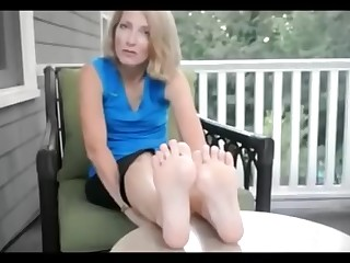 Amateur Blonde Feet Fetish Foot Fetish Juicy Mature MILF