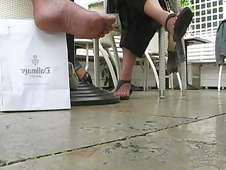 Amateur Feet Foot Fetish High Heels Mature Playing Rough Solo