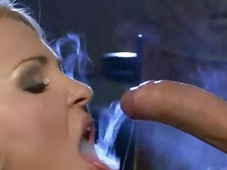 Babe Mammy MILF Smoking
