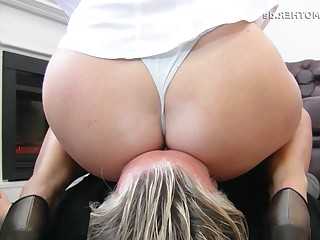 Ass Fetish Mammy Mature Office