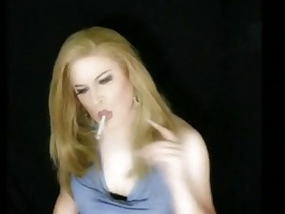 Blonde Dancing Dress Fetish Kiss Mature Smoking