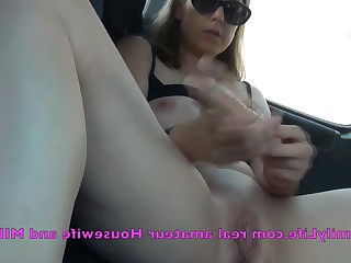 Car Inside Mammy Masturbation MILF Nude Really Webcam