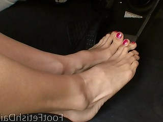 Feet Foot Fetish Mammy Mature Slender Solo