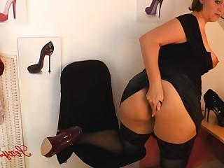 Ass Big Tits Boobs BBW Fatty Fetish High Heels Lingerie